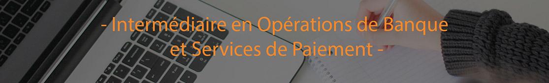 Intermdiaire en Oprations de Banque et en Services de Paiements Crforma Plus