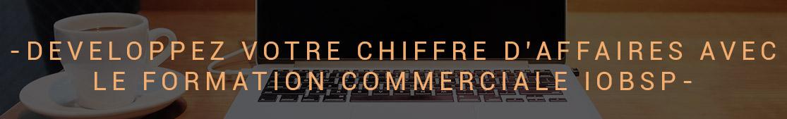 DEVELOPPEZ VOTRE CHIFFRE DAFFAIRES AVEC LE FORMATION COMMERCIALE IOBSP